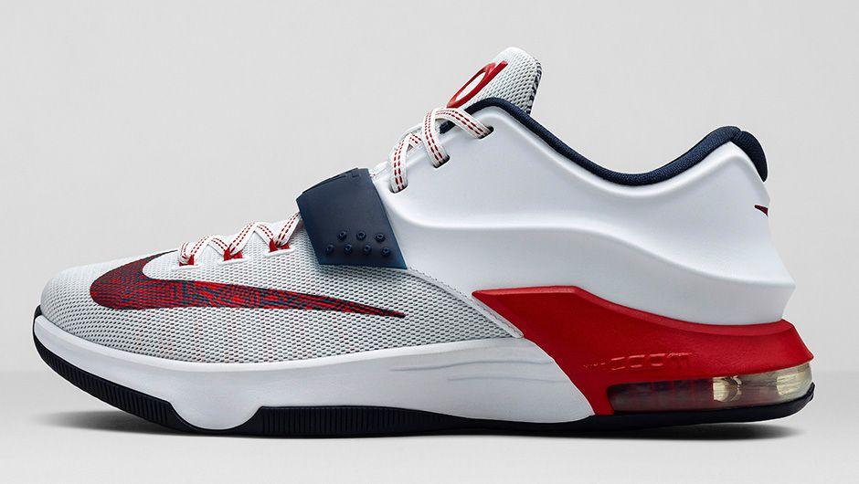 promo code daca1 8d75d Nike KD 7 'July 4th' - Restocked - WearTesters
