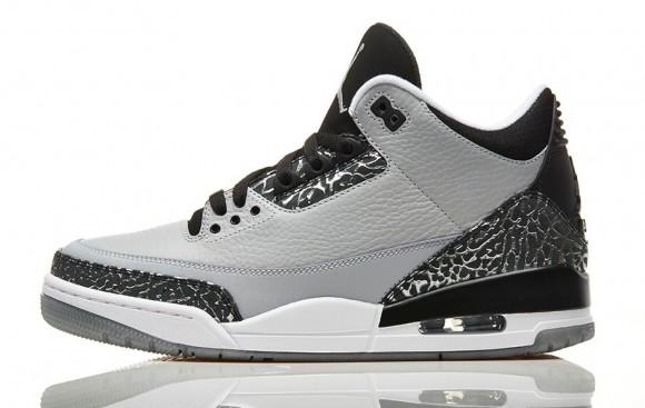 Air Jordan 3 Retro 'Wolf Grey' - Official Look + Release Info  1