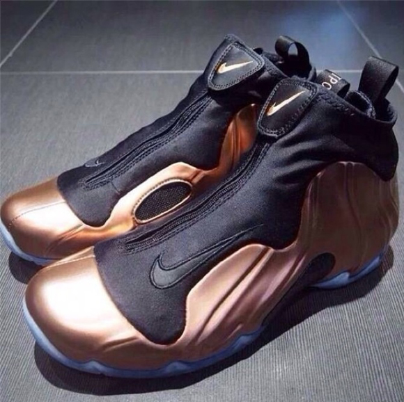 Nike Air Flightposite 'Copper' 1