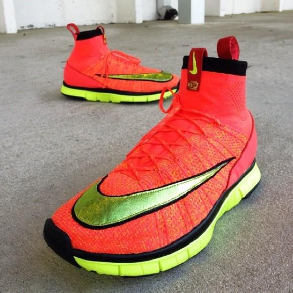 Nike Free Mercurial Superfly Custom By RedRibbonRecon 1