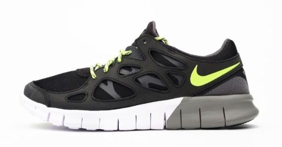 Nike Free Run 2 EXT Black:Volt 1