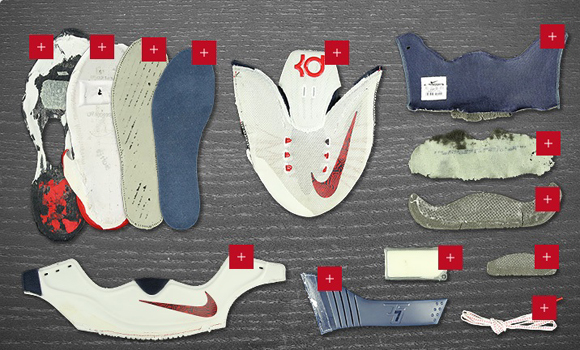 Nike KD 7 Deconstructed