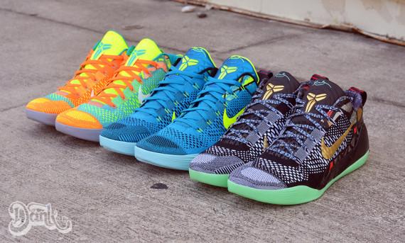Nike Kobe 9 Elite Turned into Low Tops 1
