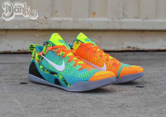 Nike Kobe 9 Elite Turned into Low Tops