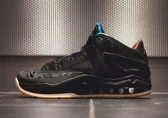 Nike LeBron 11 Low Black:Gum – Release Info 1