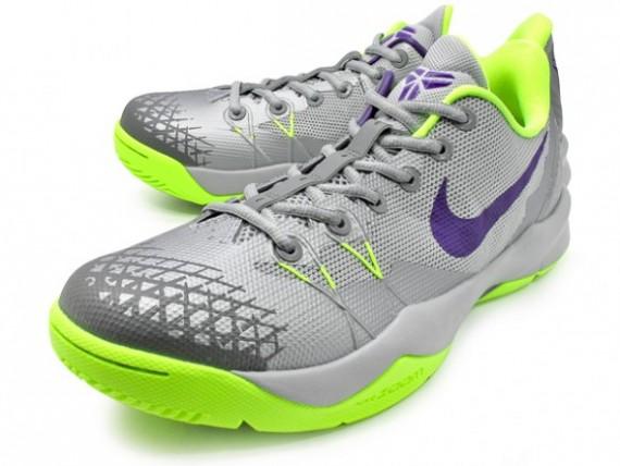 Nike Zoom Kobe Venomenon 4 – Wolf Grey:Court Purple:Volt 1