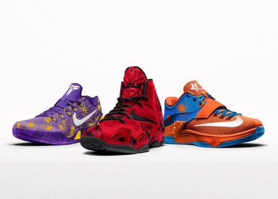 NikeiD 'Fireworks' Option Now Available on LeBron 11 and Kobe 9 EM