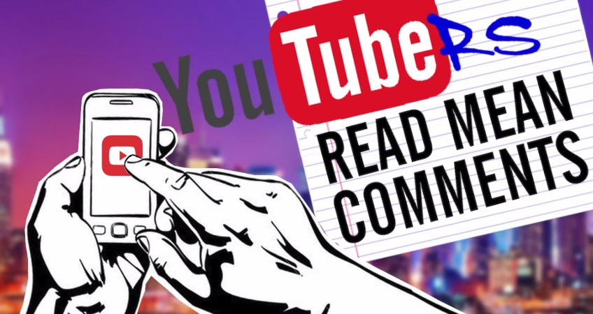 YouTubers Read Mean Comments – Episode 1