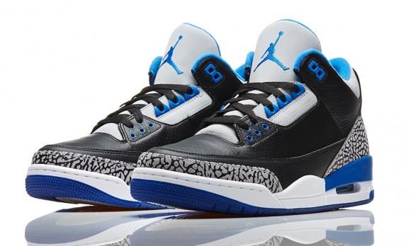 AJ 3 Sport Blue 1