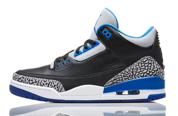 AJ 3 Sport Blue 3