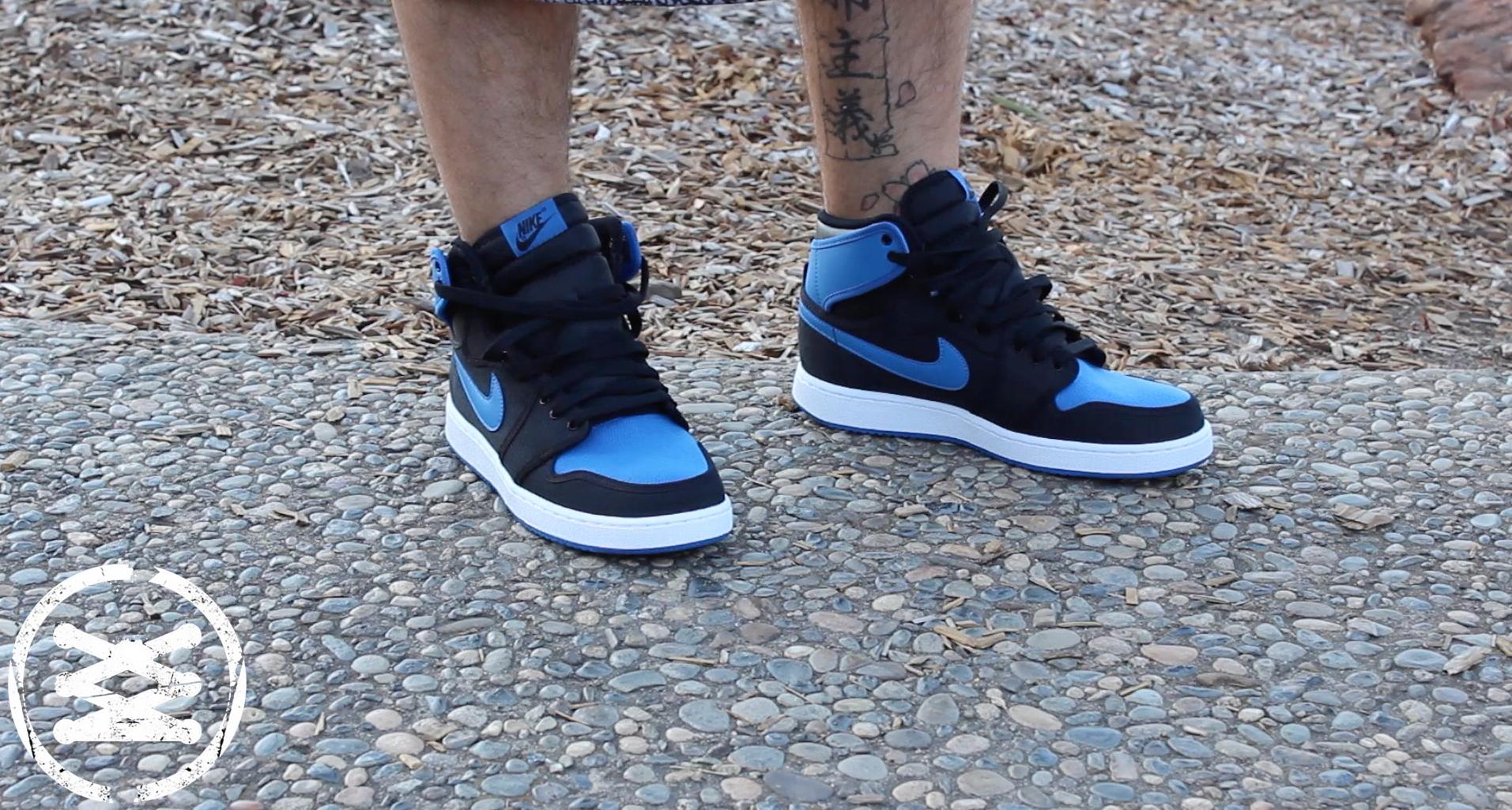 Air Jordan 1 KO Black: Sport Blue – Detailed Look & Review