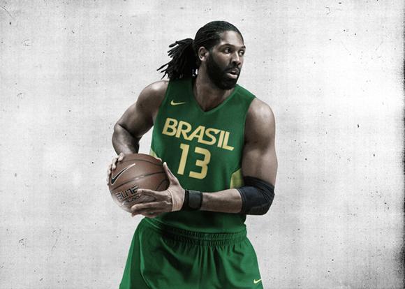 Nike Basketball Unveils Brazil Basketball Uniforms 1