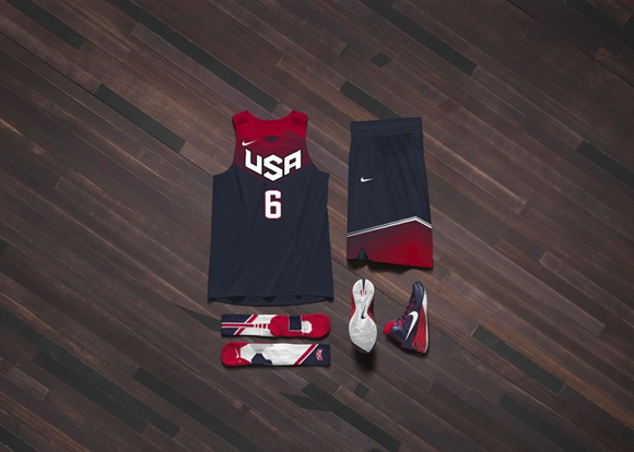 Nike Basketball Unveils USA Basketball Uniform 6