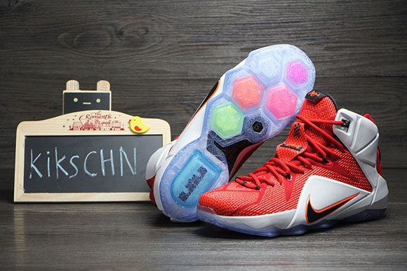Nike LeBron 12 'Lion Heart' - Detailed Look 4