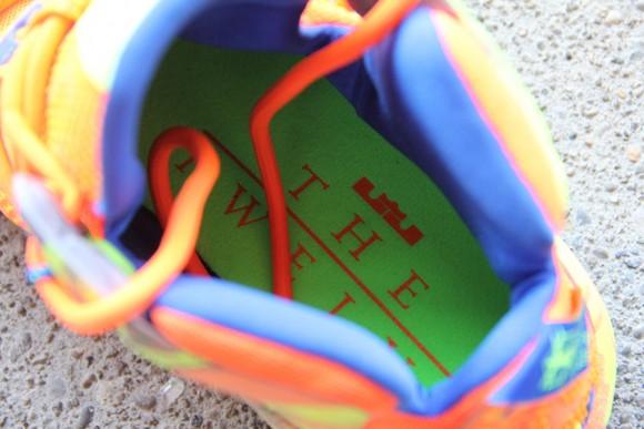 Nike LeBron 12 Orange: Volt - Detailed Look 3