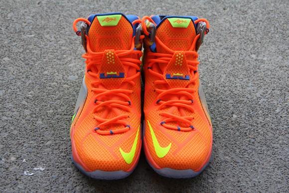 Nike LeBron 12 Orange: Volt - Detailed Look 7