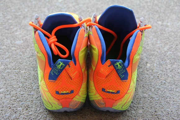 Nike LeBron 12 Orange: Volt - Detailed Look 8