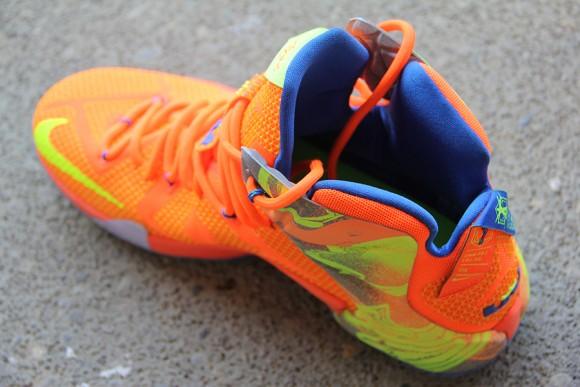 Nike LeBron 12 Orange: Volt - Detailed Look 9