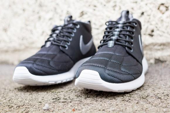 Nike Roshe Run Mid Black: Dark Grey 4