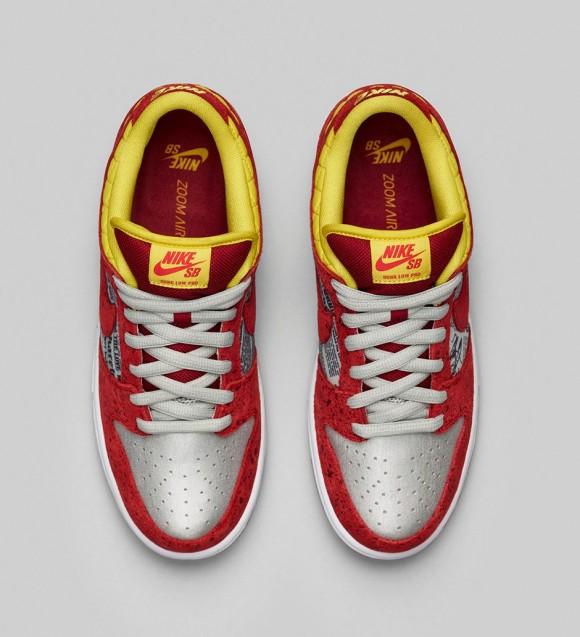 Nike x Rukus Dunk Low SB 'Crawfish' – Official Look 3