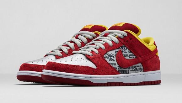 Nike x Rukus Dunk Low SB 'Crawfish' – Official Look