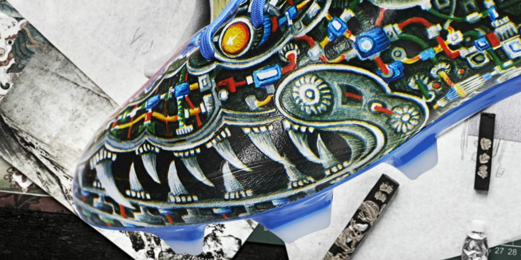 Soccer cleats by Yojhi Yamamoto for Adidas