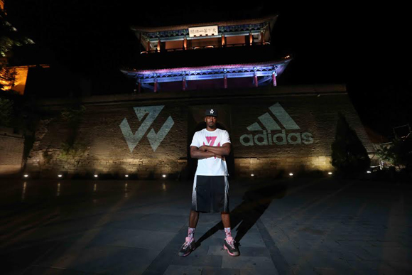 adidas and John Wall Tip-Off Take on Summer Tour 4