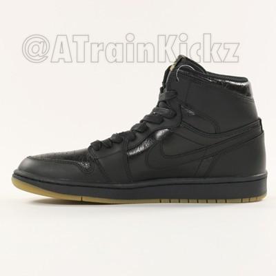 Air Jordan 1 Retro High OG Black: Gum - First Look4