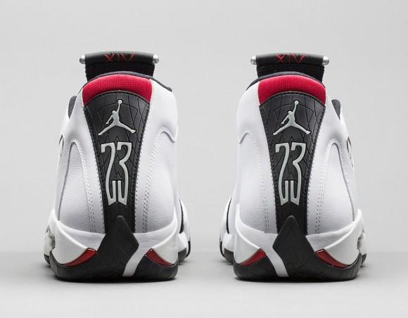 Air Jordan 14 Retro 'Black Toe' - Official Look  Release Info 4