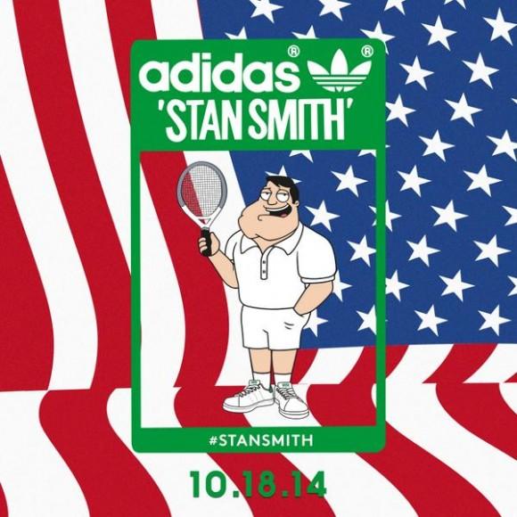 American Dad's Stan Smith x adidas Stan Smith Teaser