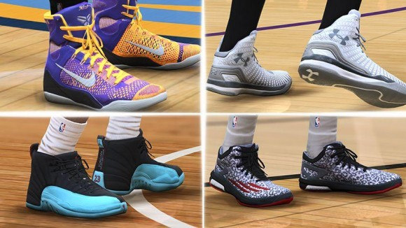 EA Sports Adds Realistic Sneakers To NBA Live 15  4