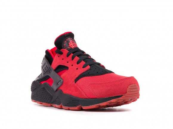 Nike Air Huarache QS University Red: Black - Release Info 2
