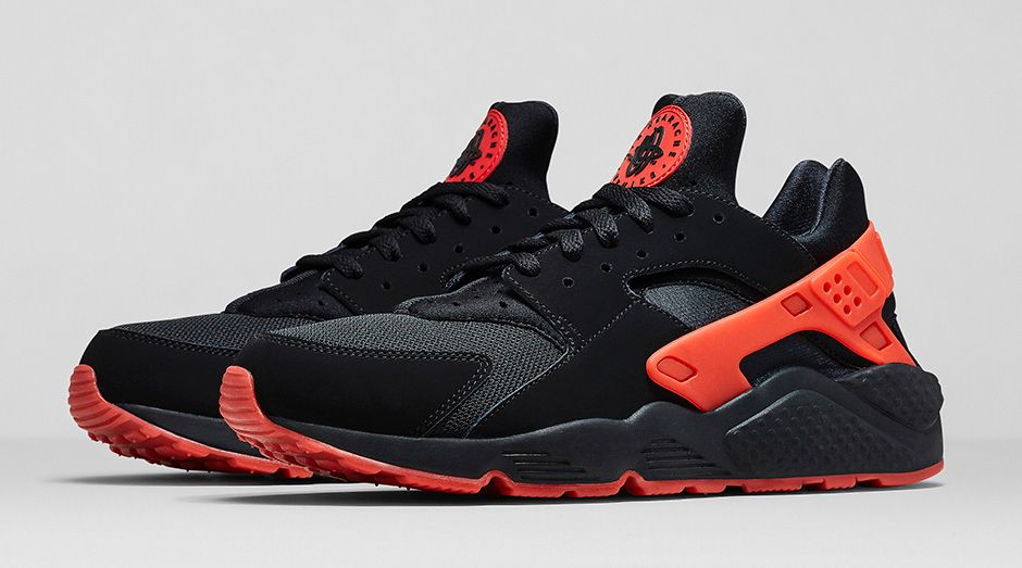 Nike Air Huarache University Red/ Black Pack - Official Images ...