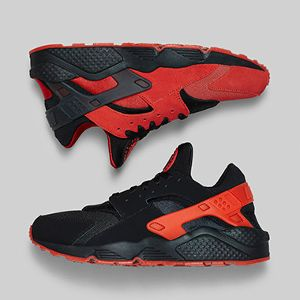 Nike Air Huarache University Red: Black Pack – Official Images + Release Info