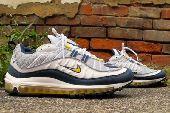 Nike Air Max 98 Tour Yellow:Midnight Navy