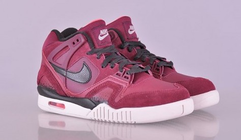 Nike Air Tech Challenge II 'Burgundy' – Detailed Look4