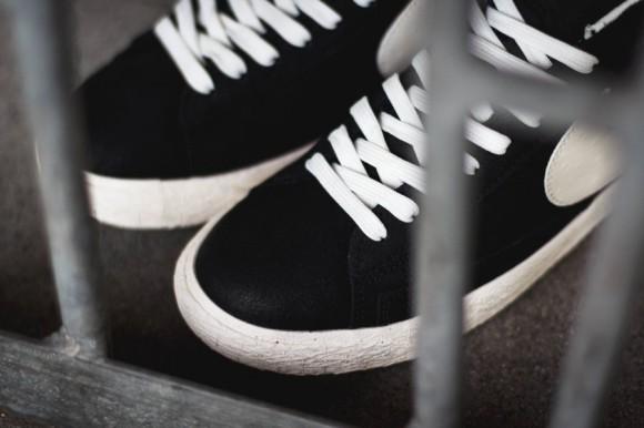 Nike Blazer Mid Premium Vintage Black:White 5 WearTesters