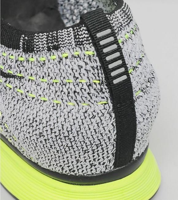 Nike Flyknit Racer - Black: White: Volt 5