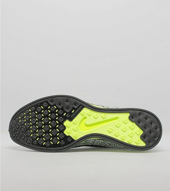 Nike Flyknit Racer - Black: White: Volt 6