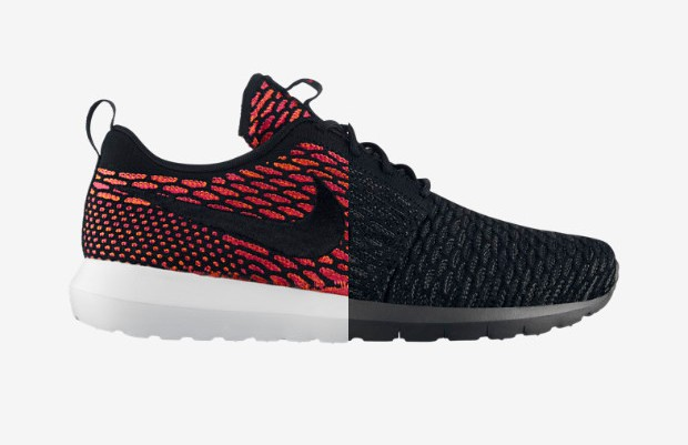 Nike Flyknit Roshe Run 'Blackout' & 'Fireberry' – Available Now3