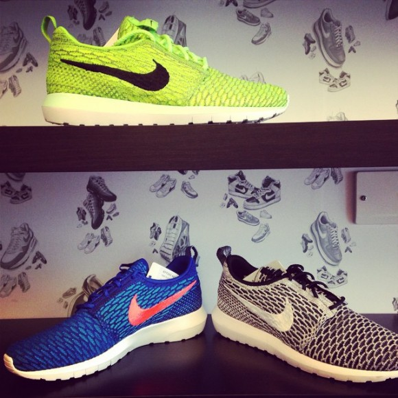 Nike Flyknit Roshe Run NM - 3 New Colorways