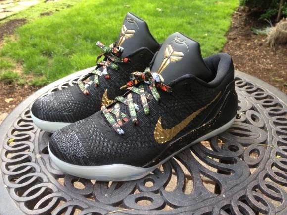 Nike Kobe 9 Elite Low 'Watch The Throne' iD Custom