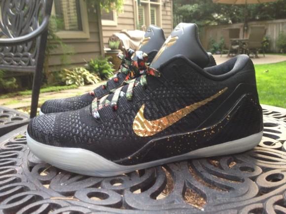 Nike Kobe 9 Elite Low 'Watch The Throne' iD Custom2