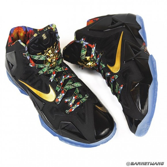 Nike LeBron 11 'Watch The Throne' Sample1
