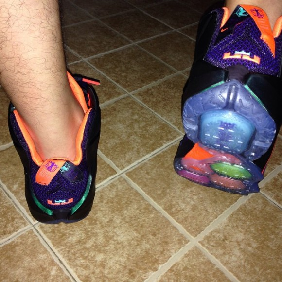 Nike LeBron 12 'Instinct' - On-Feet Look2