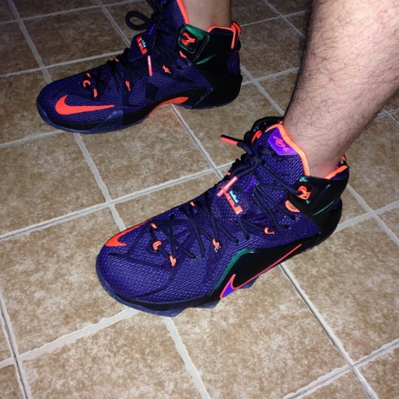 Nike LeBron 12 'Instinct' - On-Feet Look3