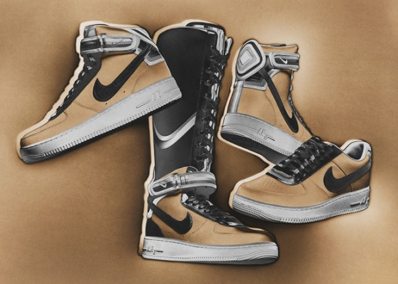 Nike + R.T. Air Force 1 Collection 'Beige' - Release Info