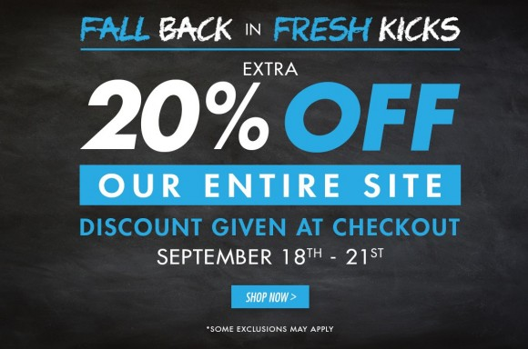 Performance Deals- 20 Off Everything at KicksUSA