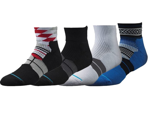 Stance Fusion Low Basketball Socks