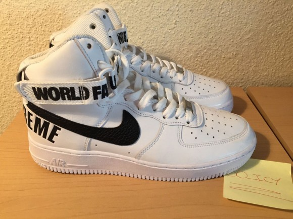 Supreme x Nike Air Force 1 Hi Collection.6